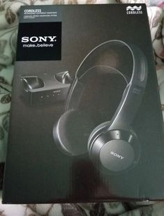 New Sony Infrared Cordless Headphones Cordless Headphones, Over Ear Headphones, Alkaline Battery, Sony, Audio