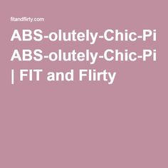 CONTEST CLOSES TMRW April 14th at midnight! ENTER NOW! FIT & Flirty 1st Pinterest Contest! Contest Rules 1- Follow 2- Repin image at www.fitandflirty.com 3- Pin a workout picture & #absolutelychic and #FITandFlirty