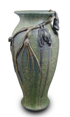 ephraim pottery bat vase.