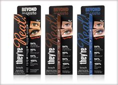 Benefit Cosmetics - they're real! mascara #benefitbeauty