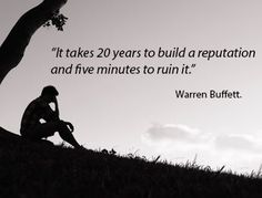 It takes 20 years...