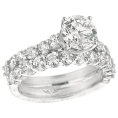 i like the side stones prong setting <3 center head changes = 6 prong with dimond prong