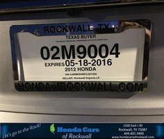 https://flic.kr/p/F3cPUw | Congratulations Frances on your #Honda #CR-V from Christian Contreras at Honda Cars of Rockwall! | deliverymaxx.com/DealerReviews.aspx?DealerCode=VSDF