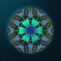 chant d'espoir ! song of hope ! canção de esperança ! Mandala de Pierre Vermersch Digital Drawings