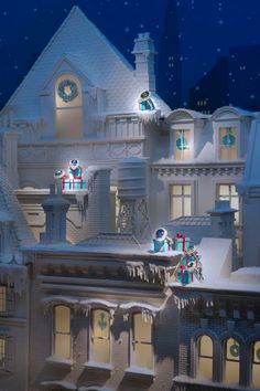 Window Display: Tiffany & Co.Holiday Window ~ 2013