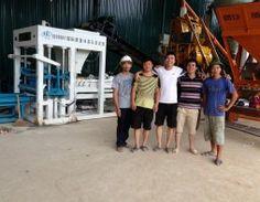 Dây chuyền sản xuất gạch không nung xi măng cốt liệu qt4 -15b lắp đặt tại công ty Hưng Long Điện Biên xem thêm tại http://huali.vn/blog/2014/04/29/du-an-cong-ty-cp-dau-tu-thuong-mai-hung-long-tai-dien-bien/