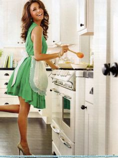 "Domestic Goddess!!!  ""Eva's Kitchen: Cooking with Love for Family and Friends"" by Eva Longoria  http://www.goodreads.com/book/show/8872853-eva-s-kitchen  ❤•❤•❤"