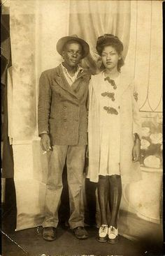 African American couple c.1940s