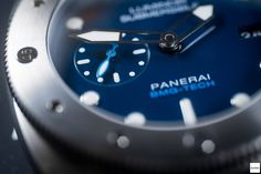 Hands on with the Panerai Luminor Submersible 1950 Bmg Tech 3 Days Automatic PAM692 - Read our full article on Horbiter®