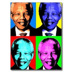 Nelson Mandela Post Card