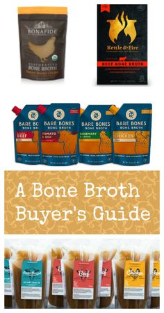 """Store bought bone broth? Just a couple of years ago the only way to consume the nourishing concoction some call the """"elixir of life"""" was to make it yourself. Today there is a dizzying array of options..."""