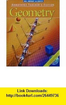 Geometry, Annotated Teachers Edition (9780030660528) James E. Schultz, Kathleen A. Hollowell, Wade Ellis Jr., Paul A. Kennedy , ISBN-10: 0030660521  , ISBN-13: 978-0030660528 ,  , tutorials , pdf , ebook , torrent , downloads , rapidshare , filesonic , hotfile , megaupload , fileserve