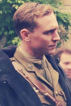 Tom Hiddleston | Captain James Nicholls  in #WarHorse