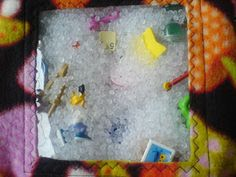 Edeltraud mit Punkten: Spionier-Sackerl Spy Bag, Busy Bee, Diy For Kids, Kindergarten, Sewing, Toys, Quiet Books, Clever, Board