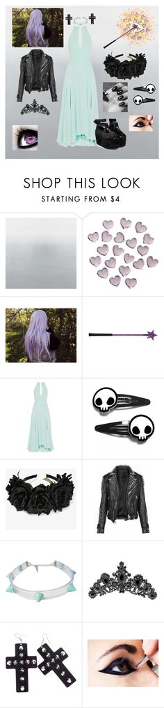 """""""Star VS The Forces Of Evil OC\\ The Blood-Moon Ball"""" by princess-greenleaf ❤ liked on Polyvore featuring Crate and Barrel, Burberry and Swarovski"""