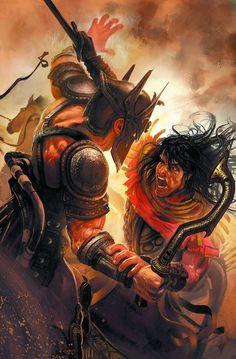 Dark Horse Cover of the Day: Conan The Avenger #10