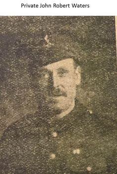 Private John Robert Waters