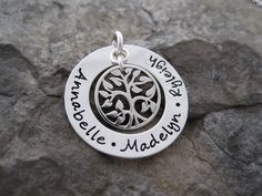 Family Tree Charm - Wearable Whispers at Etsy