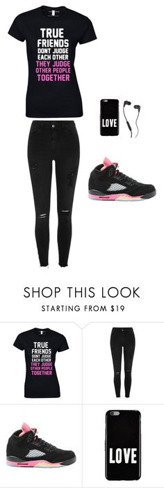 """""""true friends"""" by tyshdrea on Polyvore featuring River Island, NIKE, Givenchy and Skullcandy"""