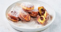 Perfect for afternoon tea or dessert, these easy cinnamon doughnuts are stuffed with Nutella and cooked in a Kmart pie maker.