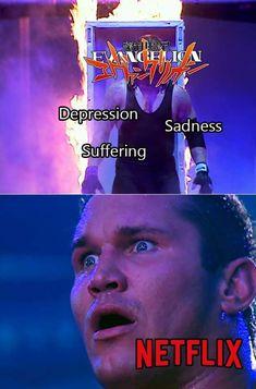 Neon Genesis Evangelion, Dankest Memes, Funny Memes, Edgy Teen, New Electronic Gadgets, Internet Memes, Funny Animal Memes, Jojo Bizzare Adventure, Humor