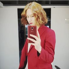 Last few moments of Heechul's ahjumma hair