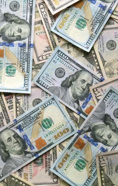 Money Bill, Mo Money, Nike Wallpaper, Iphone Wallpaper, Wallpaper Backgrounds, Blue Aesthetic Dark, Money Background, 100 Dollar Bill, Money On My Mind