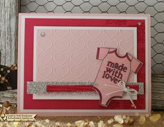 I made this for the Stamp Review Blog Hop. For details please visit my blog. Thank you for looking!  My Blog http://rubberredneck.typepad.com/rubber-redneck/2016/05/baby-card-made-with-love.html