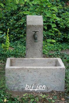 """Er ist endlich fertig unser neuer """"Brunnen"""" ♥ Ich bin total verliebt in unseren Trog........... Ein Traum oder....ich bin t otal happ..."""