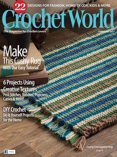Crochet World Vol.40 №1 2017 - 轻描淡写 - 轻描淡写