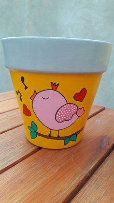 Clay Flower Pots, Flower Pot Crafts, Clay Pot Crafts, Flower Planters, Clay Pots, Flower Pot People, Clay Pot People, Painted Plant Pots, Painted Flower Pots