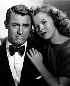 Cary Grant & Shirley Temple The Bachelor and the Bobby-Soxer, 1947