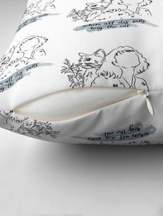 """When All Else Fails, Hug The Cat "" Floor Pillow by hiwaga   Redbubble Floor Pillows, Bed Pillows, Fails, Hug, Gym Bag, Pillow Covers, Flooring, Flowers, Stuff To Buy"