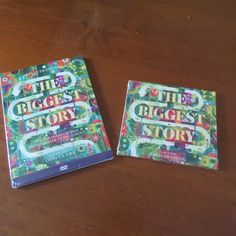 Learn to be a Mom: The Biggest Story DVD & CD #review #Giveaway  #The... Cd Review, Learning To Be, Giveaways, About Me Blog, Mom, Books, Livros, Livres, Libros
