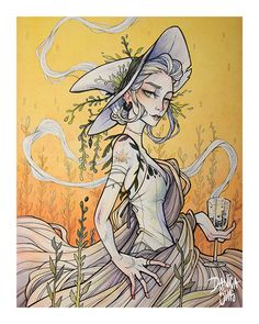 Spring Witch ♦ Art Print