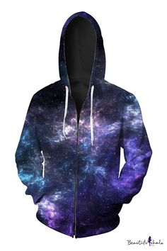 TYUING 3D Printed Mens Hoodies Big Pockets Trendy Warm Long Sleeve Hooded Sweatshirts
