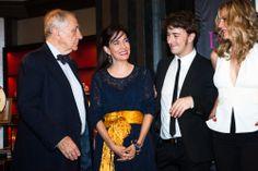 Chencho Arias , Embajador de España , Alejandra Alloza , Josean Pérez y Bárbara De Lema en la presentación de #chicasparanoicas #abcserrano
