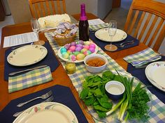 The Journey: Making Preparations: A Christian Family Passover Meal