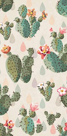 Shutterstock | Thousands of images for sale. Can be used for wallpaper i.e. seamless cactus print pattern background | Recommended by Colin + Justin