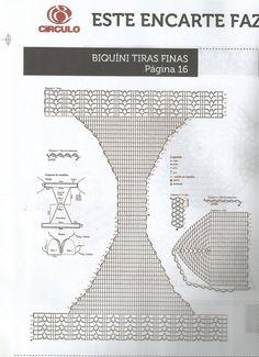 Картинки по запросу bikini crochet pattern