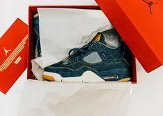 the latest bab36 23df6 Air Jordan Iv, Denim Sneakers, Michael Jordan, Gq, Men s Shoes, Wednesday
