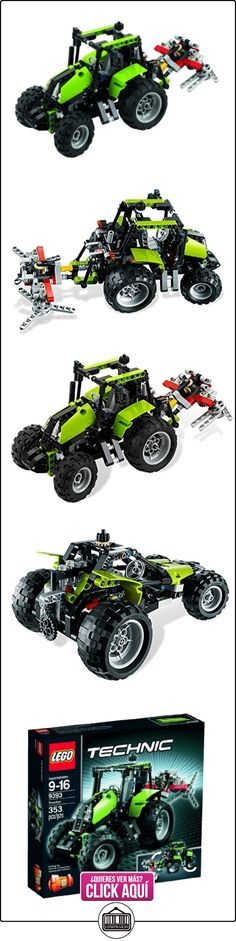 LEGO Technic Tractor 353pieza(s) - juegos de construcción (Multicolor)  ✿ Lego - el surtido más amplio ✿ ▬► Ver oferta: https://comprar.io/goto/B008TAXFVY