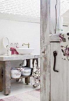 Bagno Shabby Chic 14 | Shabby chic bathrooms | Pinterest | Shabby ...