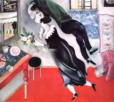 "Marc Chagall - ""The Birthday"""