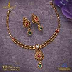 Enhance your look. Get in touch with us on Gold Bangles Design, Gold Earrings Designs, Gold Jewellery Design, Necklace Designs, Handmade Jewellery, Silver Jewellery, Pearl Jewelry, Beaded Jewelry, Gold Necklace Simple