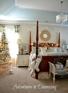 Adventures in Decorating: Our Christmas Bedroom/Better Late than Never Virtual Party