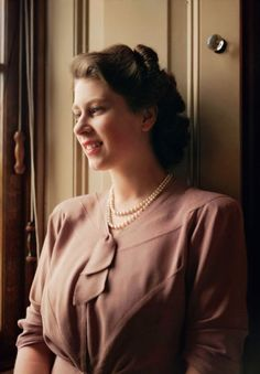 Princess Elizabeth Alexandra Mary of.. ..Yay! | [the queen in young; ca. 1957]