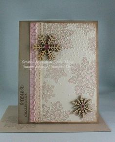 Flurry of Pink Wishes by cindy_canada - Cards and Paper Crafts at Splitcoaststampers