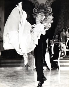 Ginger Rogers and Fred Astaire  in The Story of Vernon and Irene Castle, 1939