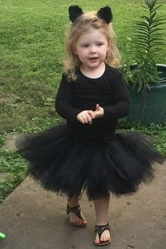 kids childrens Halloween Black Cat fancy dress costume book day